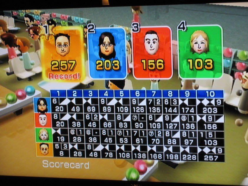 Wii record