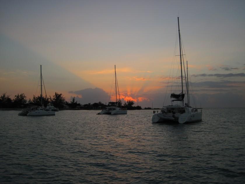 Anagada sunrise