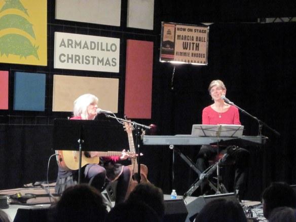Marcia Ball & Kimmie Rhodes.
