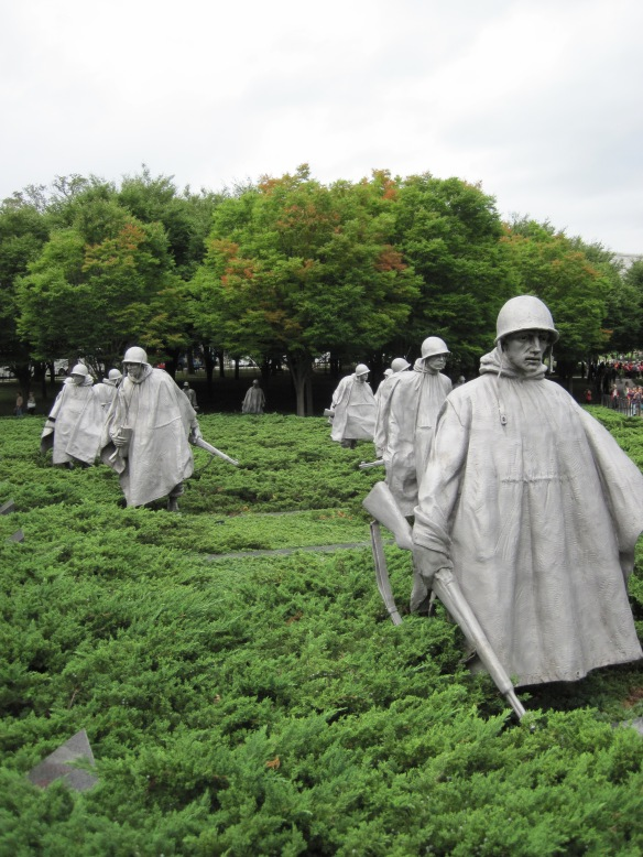 From the Korean War Memorial in Washington, D.C.