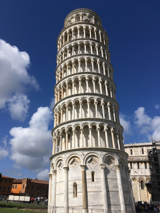Tower of Pisa in April
