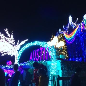 Mozart's lights in December